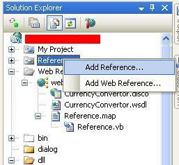 Screenshot Add Reference